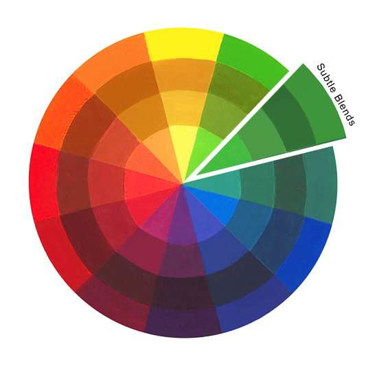 Understanding Color - Subtle Blends Linmarr Towers Condominium Complex