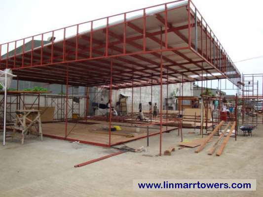 Image of the display suite construction (updated) of Linmarr Towers Condominium Complex